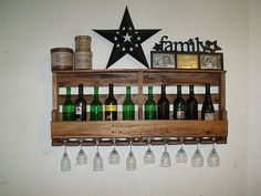 Hey, I found this really awesome Etsy listing at https://www.etsy.com/listing/217984968/pine-wine-rack-and-shelf-rustic-wine