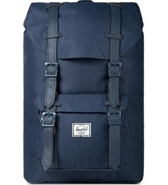 c4bf936d7ea Navy/Navy Little America Mid-Volume Backpack. HypebeastLaptophoezen RugzakSchooltas. Herschel Supply Co.