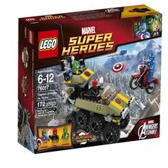 LEGO Superheroes 76017 Captain America vs. Hydra 6 - 12 Boys Girls 6062395 NEW #LEGO