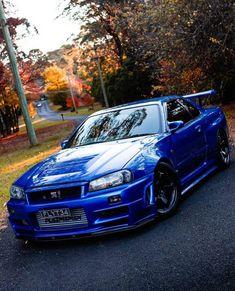 Nissan Gtr R34, Gtr Car, Street Racing Cars, Lux Cars, Nissan Gtr Skyline, Japan Cars, Modified Cars, Jdm, Cool Cars