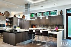 Kitchen with earthly palette | LuxeSource | Luxe Magazine - The Luxury Home Redefined