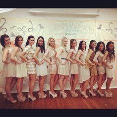 Alpha Sigma Tau recruitment dresses, found my pledge class on pinterest! weird haha