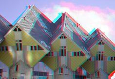 Casele 3d cubice din Rotterdam