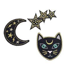 REBAJAS 20% de descuento Gato negro con por WildflowerandCompany