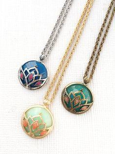 Lotus Pendant,  - AMY O. Jewelry