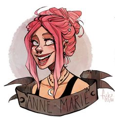 This is a great picture of Anne-Marie I just love Fuki's art! Character Inspiration, Character Art, Character Design, Art Folder, Witch Art, Wicca, Art Sketchbook, Character Illustration, Cartoon Art