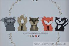 Stampin' Up! Foxy Friends auf Lenky & Verzickt: Aaahhh - sooo süß!