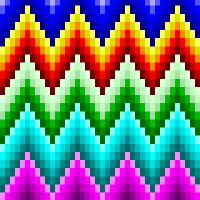 Beginner Quilt Patterns, Crochet Square Patterns, Quilting For Beginners, Embroidery Hoop Crafts, Cross Stitch Embroidery, Cross Stitch Patterns, Tessellation Patterns, Weaving Patterns, Broderie Bargello