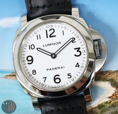 A Clear View!Panerai 44mm Luminor Base Stainless SteelRef#: #luxury cars #luxury homes #luxury house