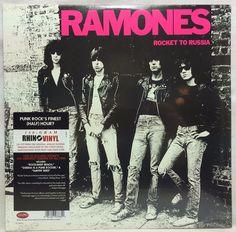 The Ramones - Rocket to Russia - 180g LP Vinyl Record New Sealed Rhino Label…