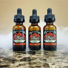Must Vape Liquids have arrived!!  Beautiful mustache styles and geeat tasting flavors!!!