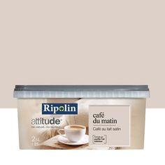 Peinture multisupports Attitude café du matin RIPOLIN, beige café au lait, 2.5 L