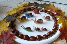 Epoxy Table - Welcome Epoxy Table Ideas Kids Crafts, Easy Fall Crafts, Leaf Crafts, Diy And Crafts, Autumn Activities, Activities For Kids, Fireman Crafts, Snail Craft, Ladybug Crafts