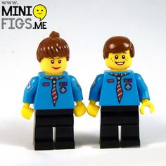 Lego beaver scout minifig