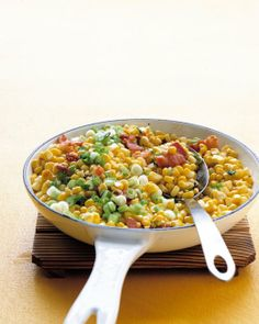 Sauteed Corn, Bacon, and Scallions  Raw or cooked kernels can be frozen in resealable plastic bags for up to six months. Be sure to write the date on the bag with a marker for future reference.