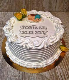 Torty ciasta i ciasteczka Joli: Chrzest Tobiasza