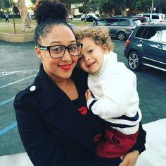 Aden & his beautiful mama Tamera Mowry Housley.