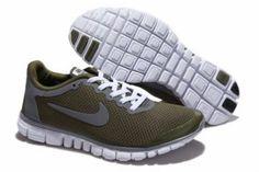 promo code ab1d2 2344c 2012 Nike Free Run 3.0 V2 Men Shoes Army Green Cheap Nike Running Shoes,  Nike