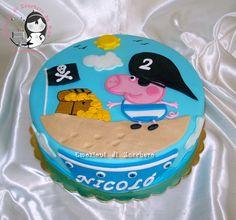 George The Pirate Cake (Peppa Pig)