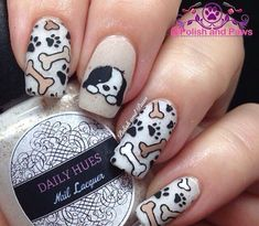 Image result for cute dog nail ideas for kids
