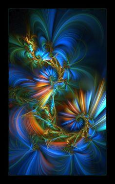 color fantasy fractal