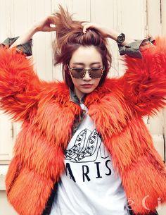 Go Joon Hee CéCi Magazine December 2013