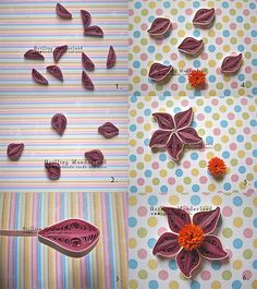 795 best paper quilling tutorials images on pinterest quilling tutorial quilled purple flower easy to follow picture tutorial mightylinksfo