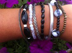 Bead bangle bracelet mix, $15.00  always FREE shipping!!    http://www.ssuniquejewelry.com/