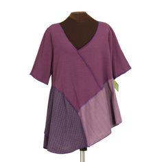 secret lentil plus size upcycled shirt