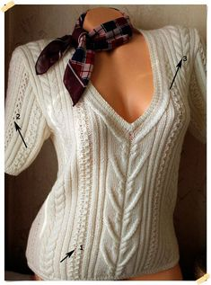 VK is the largest European social network with more than 100 million active users. Sweater Knitting Patterns, Knitting Stitches, Free Knitting, Baby Knitting, Handgestrickte Pullover, Pull Gris, Hand Knitted Sweaters, Knit Fashion, Sweater Outfits