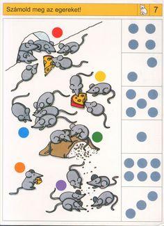 visuele discriminatie voor kleuters / preschool visual discrimination) Preschool Printables, Preschool Worksheets, Preschool Learning, Teaching Kids, Math Games, Preschool Activities, Sequencing Cards, Nursery School, Childhood Education
