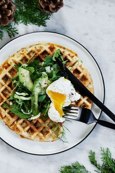 savory waffles recipe modern wifestyle