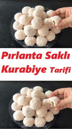 Turkish Delight, Brownie Cookies, Turkish Recipes, Coffee Break, No Bake Cake, Cereal, Food And Drink, Easy Meals, Appetizers