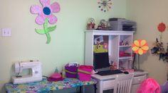 my daughter's bedroom craft area :)