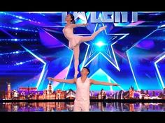Gao Lin & Liu Xin STUNS Everyone With Their Acrobatics   Week 2   Britai...