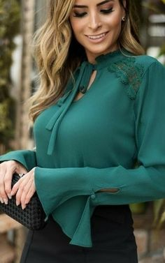 Trendy Fashion, Fashion Outfits, Womens Fashion, Lace Crop Tops, Fashion Sewing, Cute, Dresses, Style, Satin Blouses