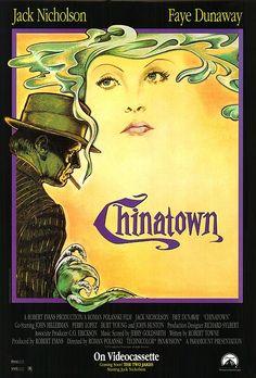 Chinatown (1974) EEUU. Dir: Roman Polanski. Cine negro. Suspense - DVD CINE 153