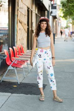 20 Times Toronto Killed The Style Game #refinery29  http://www.refinery29.com/toronto-street-style-summer-2016#slide-14  With a floral…