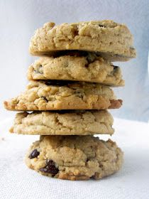 Goddess of Baking: Peanut Butter Oatmeal Chocolate Chip Cookies