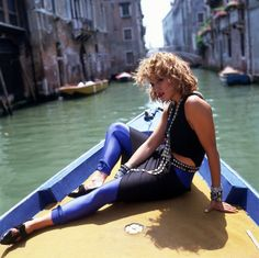 Madonna in Rome shooting like a virgin video
