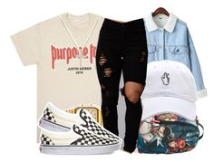""""""""""" by retrovintagepizza ❤ liked on Polyvore featuring WithChic, American Apparel, Vans and David Yurman"""