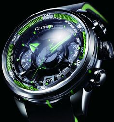 Citizen Satellite Eco-Drive Watch: Gets Time From Space: