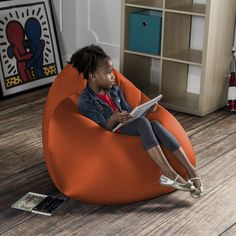 When you see the Jaxx Nimbus Bean Bag for the first time, you can't help but want to sink deep down into it and never get up.