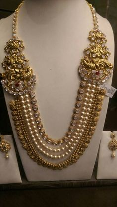 Necklace...Gold & Pearl