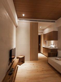 Maison japonaise moderne ~ vie minimale