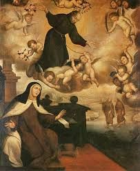 Santa Teresa de Jesús y San Pedro de Alcántara