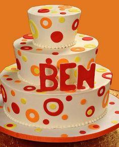 5 Bar & Bat Mitzvah Cake Trends - Bar Mitzvah Cake by Abigail Kirsch - mazelmoments.com