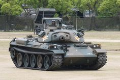 """bmashina:  """"Type 74 (jap. 74式戦車) is a Japanese main battle tank of the 1970-ies.  """""""