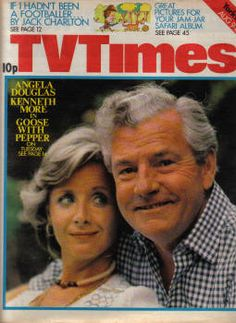A star of the small screen in his later years. Sad to say I don't remember this programme with his wife.