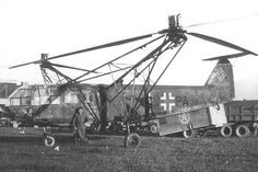 A captured German Focke-Achgelis Fa 223 V14, makes the first helicopter crossing of the English Channel when it is moved from Cherbourg to RAF Beaulieu. The US had intended to ferry one of two captured aircraft back to the USA aboard a ship, but only had room for one. Luftwaffe helicopter pilot Helmut Gerstenhauer, with two observers, flew another aircraft across the Channel to the base in Hampshire.